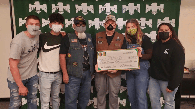 Vietnam Veterans of America Donate $750 to Mohave High School