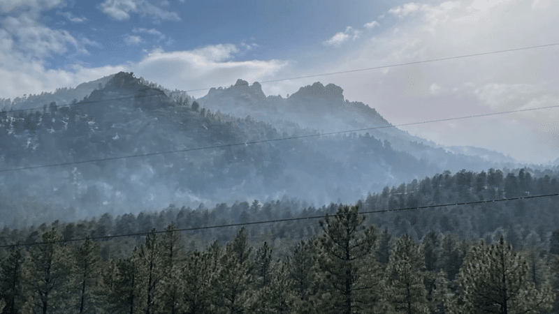 Flag Fire Evening Update (4/28)  Total Acreage Burned Remapped at 1,279