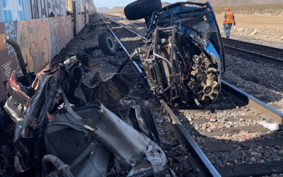 Vehicle and Train Fatal Collision