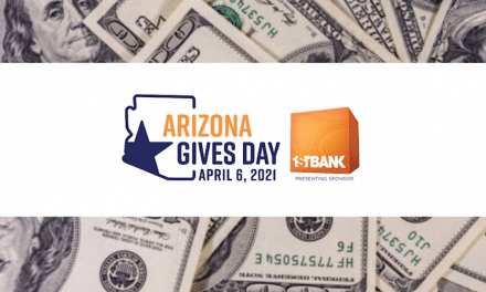 EARLY ARIZONA GIVES DAY TALLIES PUT EVENT ON TRACK TO EQUAL OR SURPASS LAST YEAR'S RECORD-SETTING $6.1 MILLION