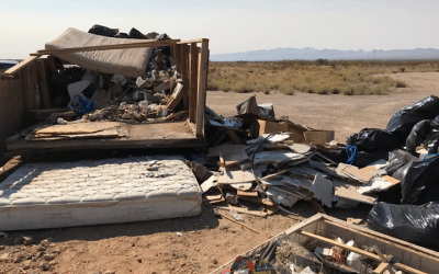 County Resident Responsible  For Large Illegal Dumping  Charged with Two Felony Counts