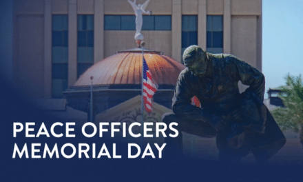 Governor Ducey Orders Flags At Half-Staff For National Peace Officers Memorial Day