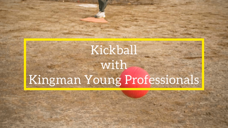 Kickball and Lunch with the Kingman Young Professionals