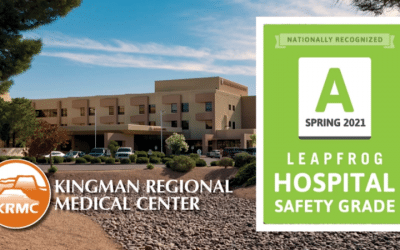 "KRMC awarded fifth consecutive ""A"" from Leapfrog Safety Group"