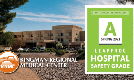 """KRMC awarded fifth consecutive """"A"""" from Leapfrog Safety Group"""