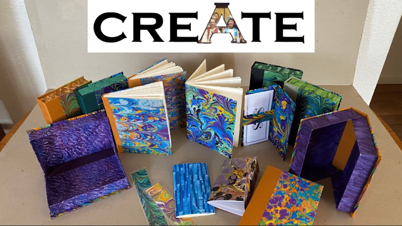 Special Box Art & Paper Marbling Classes and more at the ArtHub through June