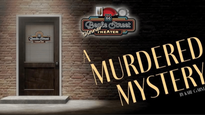 A Murdered Mystery Dinner Theater