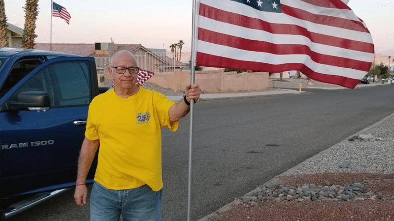 Local Volunteers Help Turn Havasu Red, White and Blue