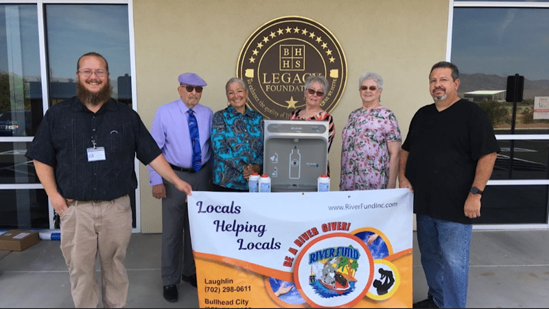 Donation of Touchless Water Filling Stations to Local Schools