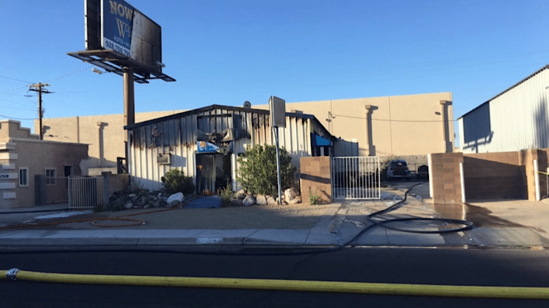 Commercial Fire in Bullhead City