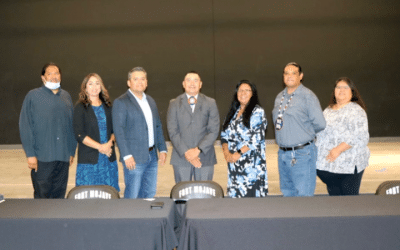 Newly Elected Tribal Council Members Sworn In