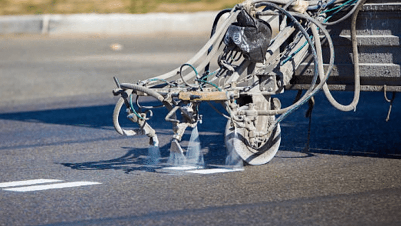 Striping to Begin on Various City Roads
