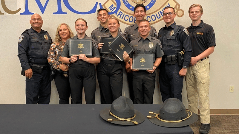 Police Explorers Graduate from Cadet Academy
