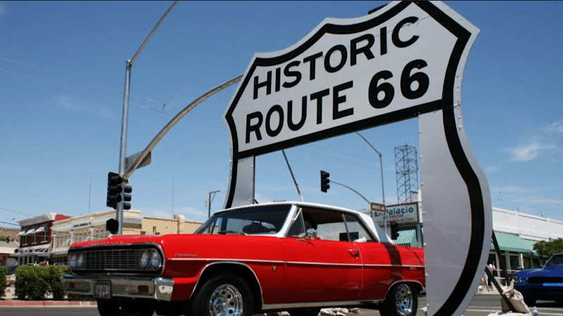 """Permanent Route 66 Drive-Through Shield debuts on """"National Drive-Thru Day,"""" Saturday, July 24, 2021"""