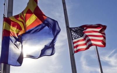 Ducey Orders Flags At Half-Staff In Honor Of Representative Frank Pratt