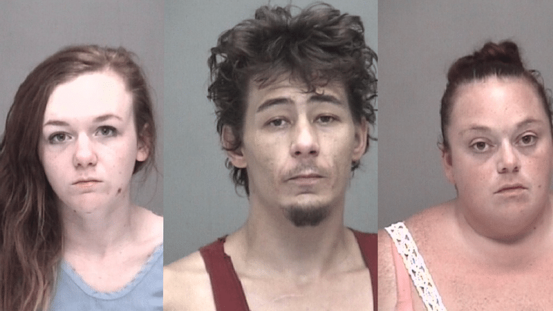 Three Arrested for Narcotics Possession and Vehicle Theft