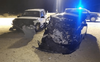 TWO VEHICLE COLLISION