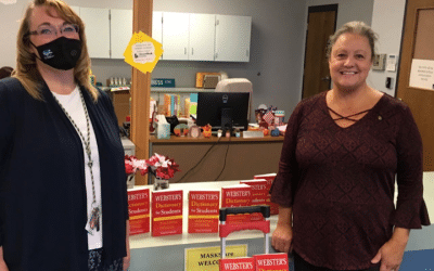 ROTARIANS GIVE BCSD THIRD GRADERS ANNUAL GIFT OF DICTIONARIES