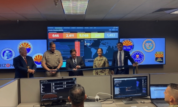Ducey Launches Arizona's New Cyber Command Center