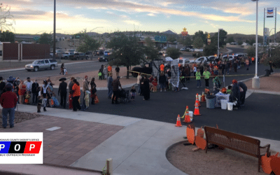 Mohave County Sheriff's Office Public Outreach Program 4th Annual Candy Crawl