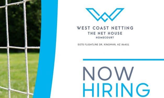 Now Hiring – West Coast Netting